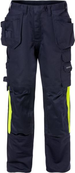 Palosuojattu High Vis rakentajan housut naisten 2730 FLAM