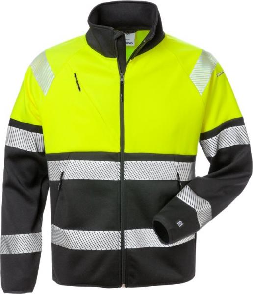 High vis kevyt stretch takki lk 1 4517 SSL keltainen/musta