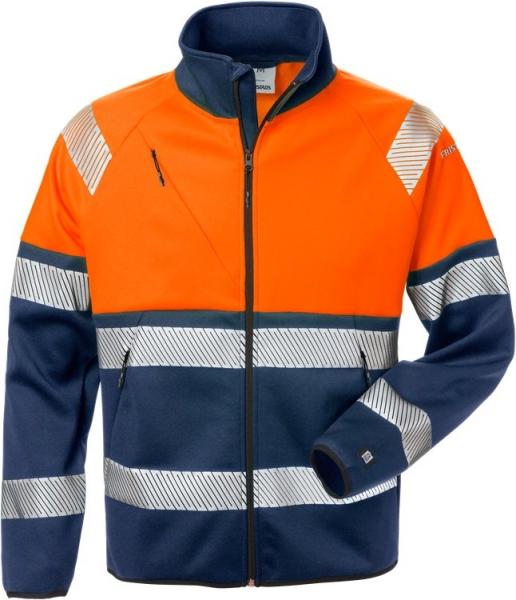 High vis kevyt stretch takki lk 1 4517 SSL oranssi/sininen