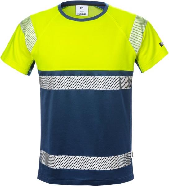 High vis t-paita lk 1 7518 THV keltainen/sininen