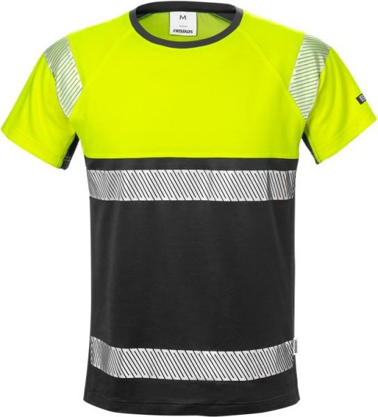 High vis t-paita lk 1 7518 THV keltainen/musta
