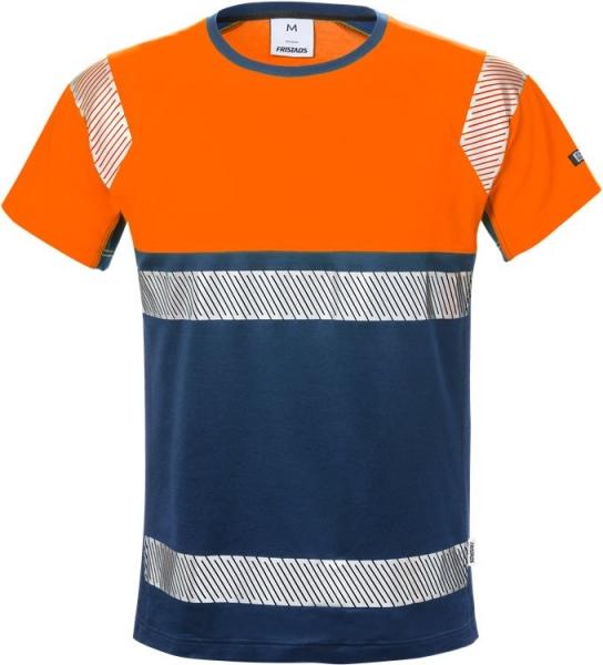 High vis t-paita lk 1 7518 THV oranssi/sininen