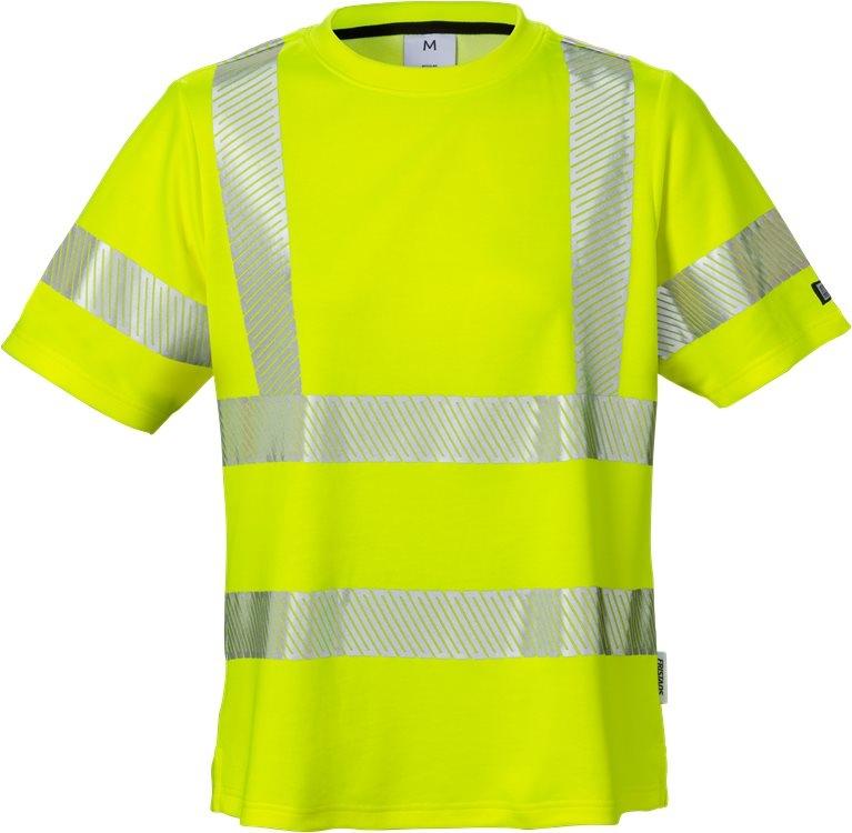 High vis t-paita naisten lk 2 7458 THV keltainen