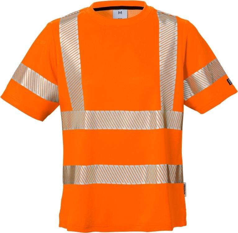 High vis t-paita naisten lk 2 7458 THV oranssi