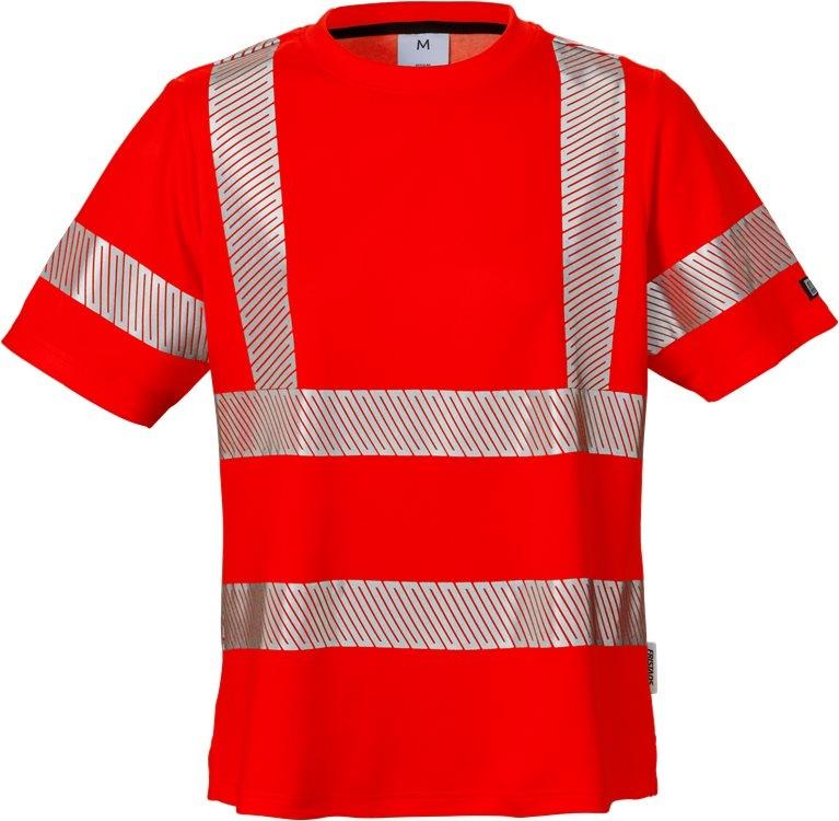 High vis t-paita naisten lk 2 7458 THV punainen