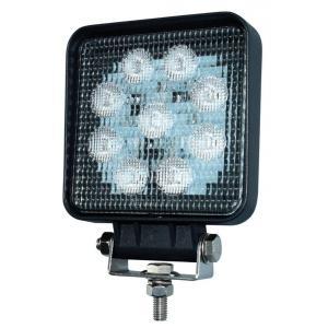 Työvalo 27 W LED neliö 2400 lm