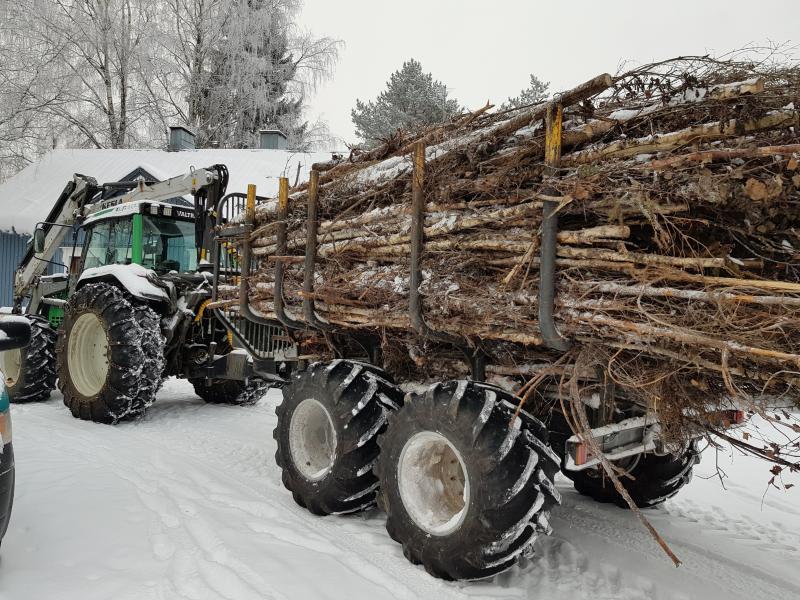 Metsäperävaunu,  Kesla 12 MBH