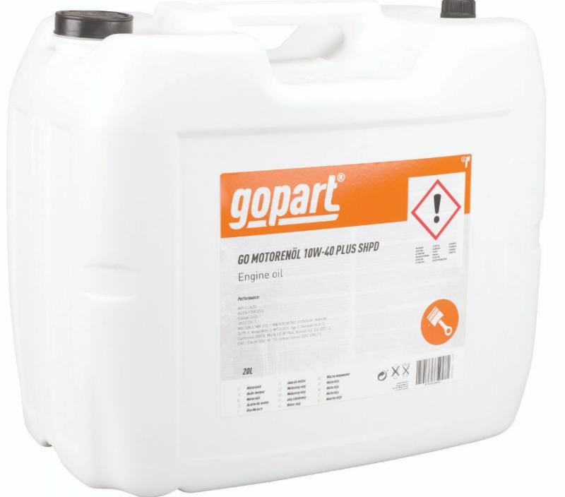Moottoriöljy, GoPart, 10W-40 Super HPD, 20 l