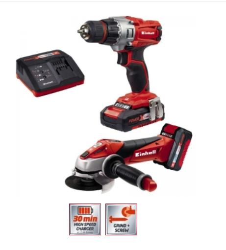 Einhell Power X-Change akkukonesarja 18V