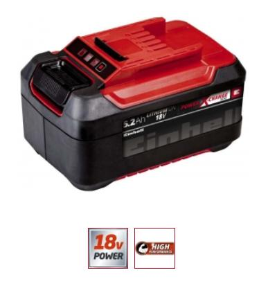 Akku Einhell Power X-Change 18 V 5,2 Ah Plus
