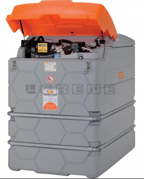 Polttoainesäiliö, Cemo Cube Premium, diesel, 230V, 2500 L2500