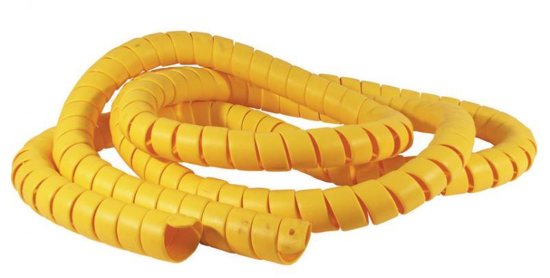 Suojaspiraali, keltainen, Ø34-44