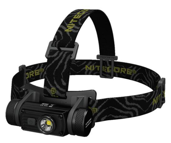 Nitecore HC60 otsalamppu + 3400mAh akku