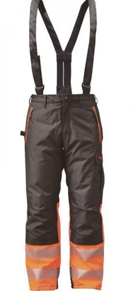 Timco Workwear oransi- ja keltainen, talvityöhousut