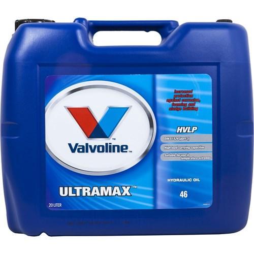 Valvoline Ultramax HVLP 46 hydrauliöljy 20L