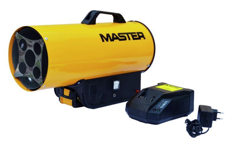 Kaasulämmitin, Master 15 kW BLP 17M DC, sisältää akun + laturin
