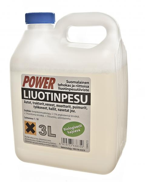 Power liuotinpesuaine 3L