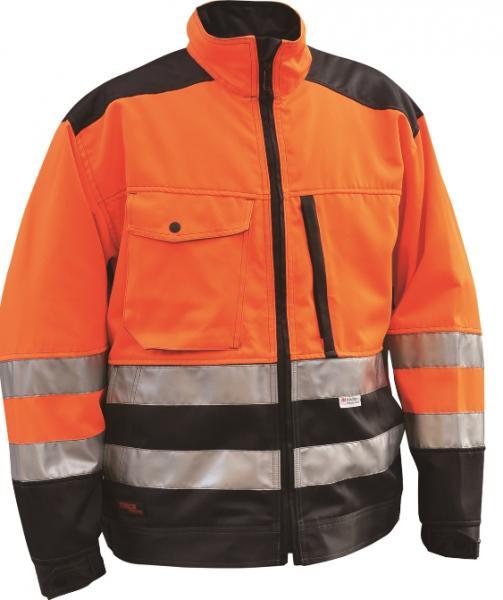 Timco Workwear näkyvä keltainen ja oranssi talvityötakki