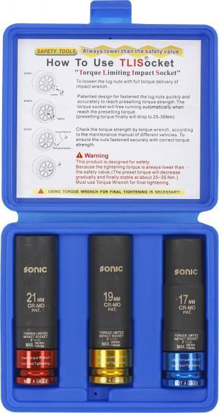 Sonic 1/2 Momenttivoimahylsy