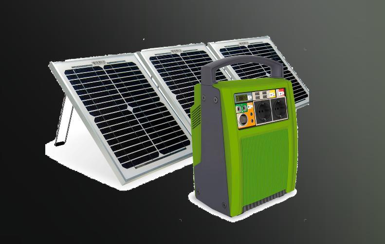 Brightsolar 200W kannettava virtalähde