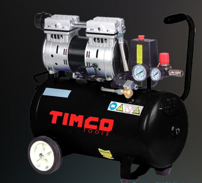 Timco 24L öljytön kompressori