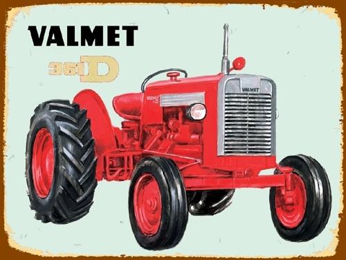 Peltikylti, Valmet 361 -traktorista
