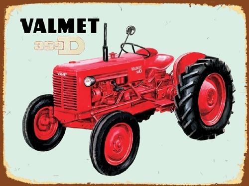Peltikyltti,  Valmet 359 -traktorista