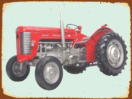 Peltikyltti, Massikasta, M-F 65 -traktorista
