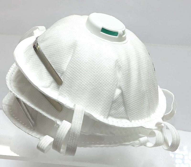 Hengityssuojain FFP2 venttiilillä, 3 kpl/pkt