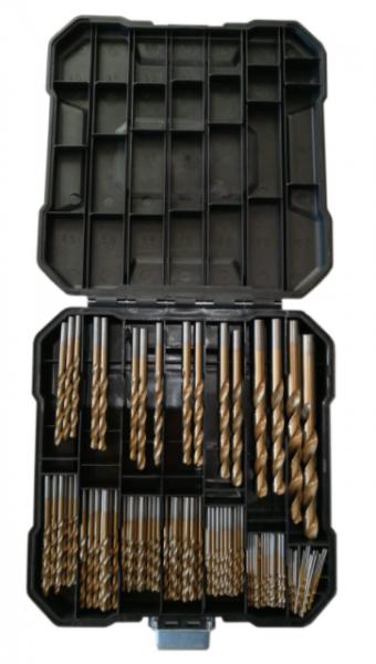 Michigan Titanium 1-10mm 100-osainen metalliporanteräsarja