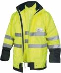 Huomiovärinen monitoimitakki (3 takkia yhdessä) keltainen EN 471 Lk.3 - 4027