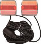 Arctic Trailer 2.5m/7m 5-napainen LED takavalosarja magneettikiinnityksellä