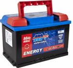 M+ ENERGY AKKU VAPAA-AIKA 80AH 600A 12V (275X175X190) ( -/+ )