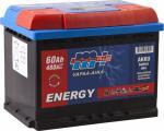 M+ Energy akku vapaa-aika 60Ah 480A 12V (242X175X190) ( -/+ )