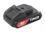 Timco 18V mutterinvääntimen 2Ah akku
