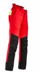 Flex-Metsurin viiltosuojahousut, Chainsaw trousers