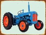 Peltikyltti,  Fordson Dexta -traktorista
