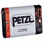 Otsalampun akku 125Mah Petzl Core USB-ladattava