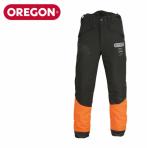 Metsurinhousut Oregon Stretch Waipoua Musta/Oranssi